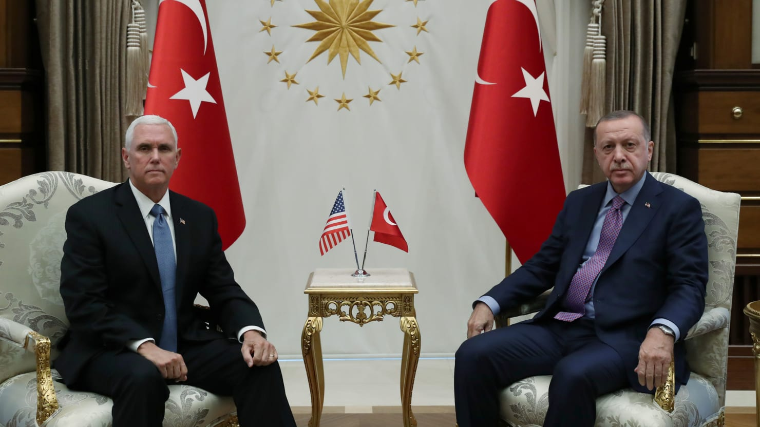 Pence Just Ratified All of Turkey's War Aims in Syria