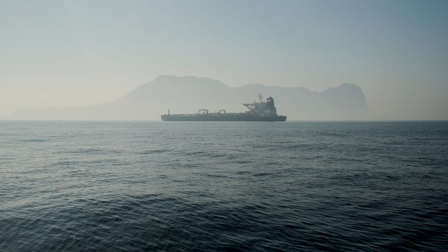 Iranian Oil Tanker Leaves Gibraltar Despite U.S. Request to Detain Ship