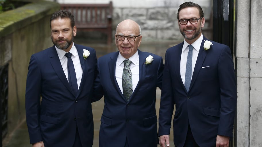 James Murdoch Says He 'Really Disagrees' With Some Views on Fox News, Doesn't Watch 'Succession'