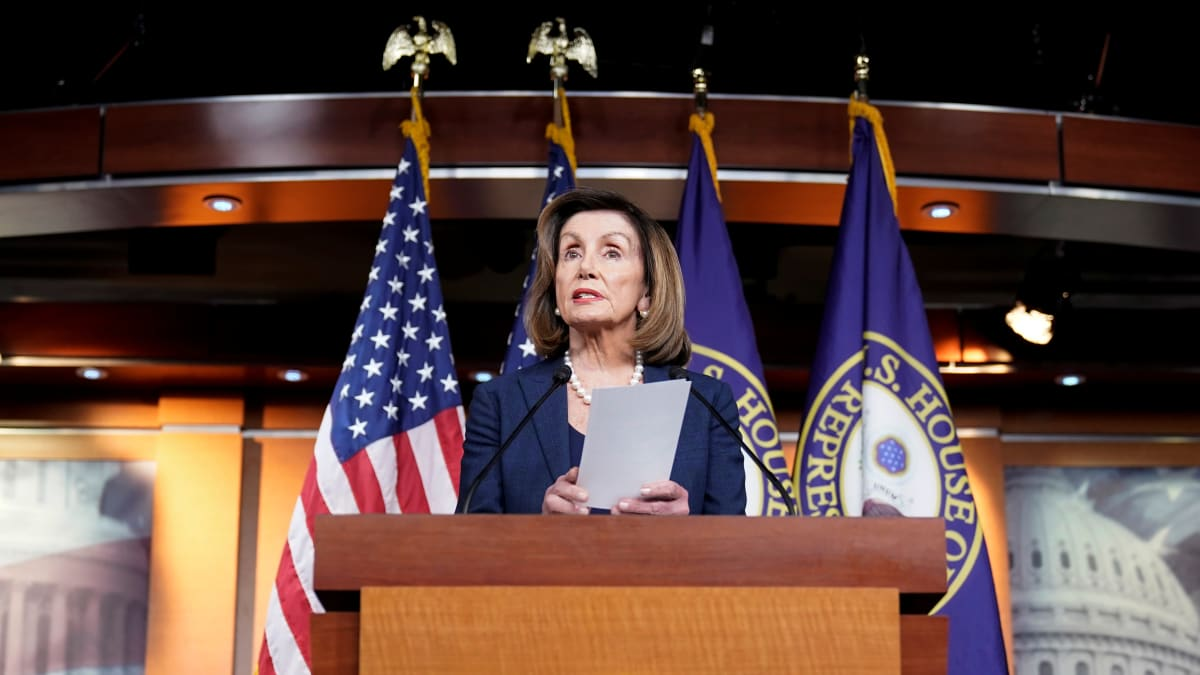Pelosi: McConnell Lied About Impeachment Trial Rules for Trump