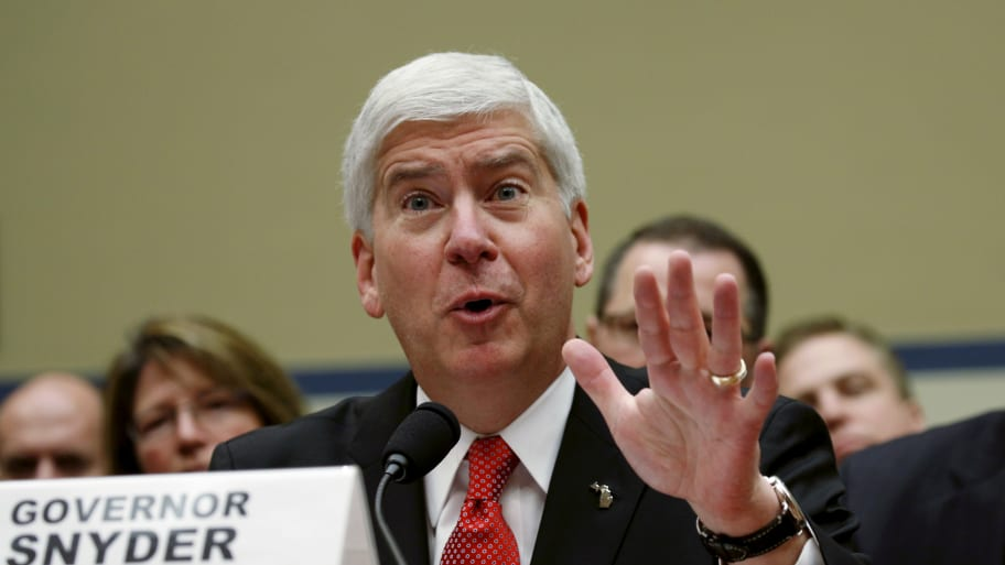 Ex-Michigan Gov. Rick Snyder Turns Down Harvard Fellowship After Outrage Over Role in Flint Water Crisis