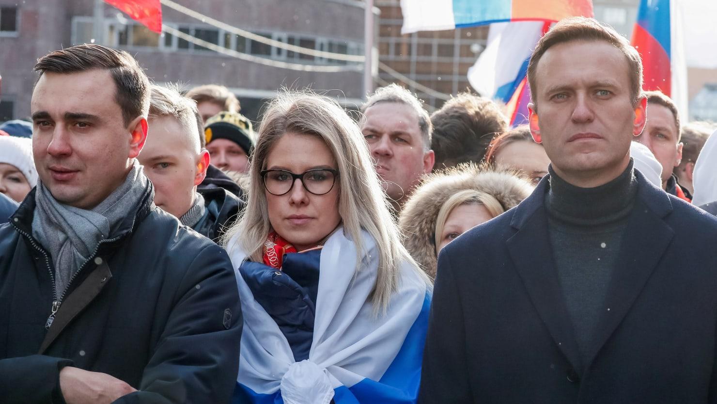 Lyubov Sobol, Navalny's No. 2, Defiant After Conviction: 'I Am Not Afraid of Them'