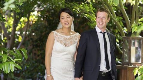 How Priscilla Chan Scored A Claire Pettibone Wedding Dress In Secret
