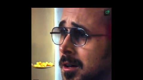 Ryan Gosling Won't Eat His Cereal - Supercut