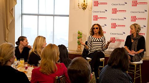Diane Von Furstenberg Honors Women At New York Fashion Week