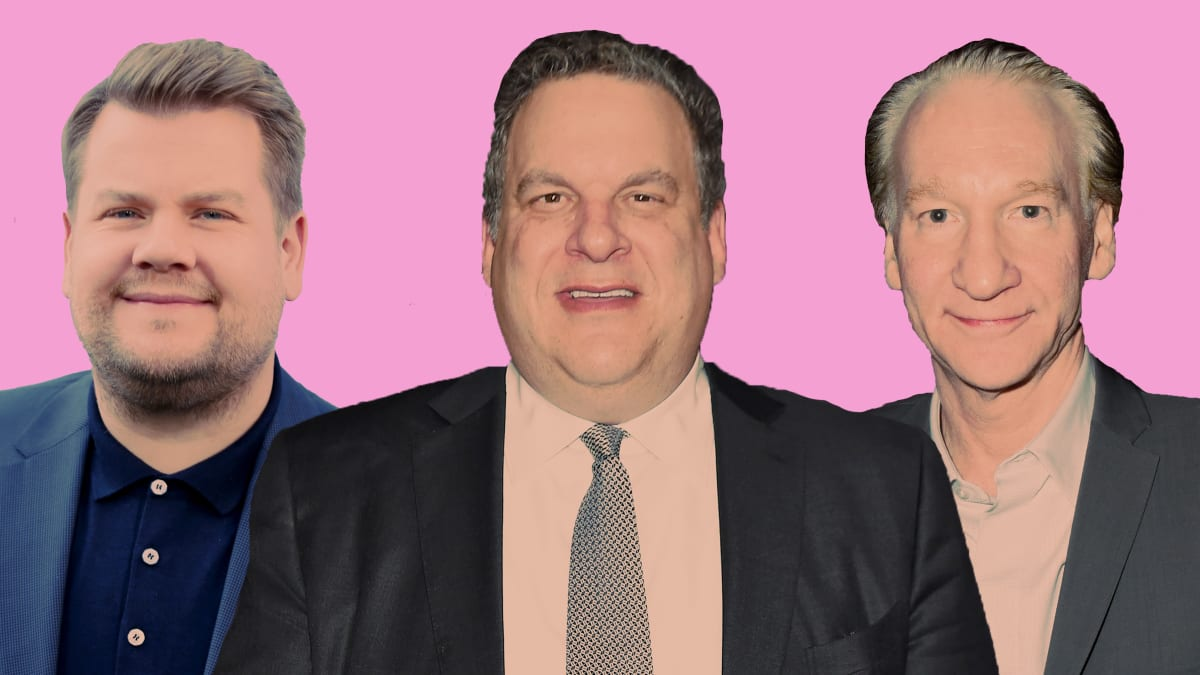 Jeff Garlin Weighs in on the Great 'Fat-Shaming' Debate Between Bill Maher and James Corden