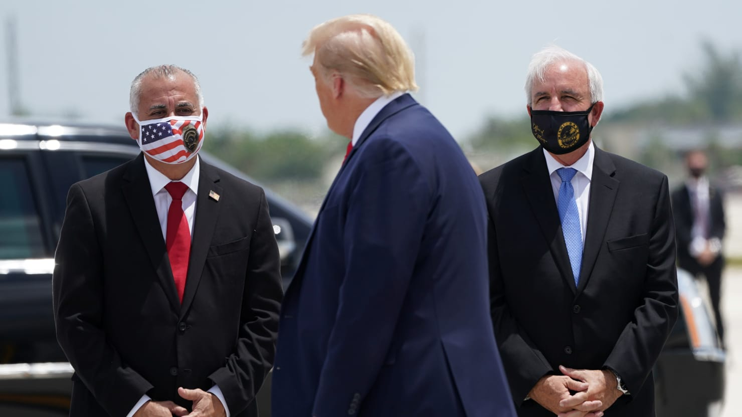 Atlanta Mayor: Trump Broke City Law by Refusing to Wear a Face Mask