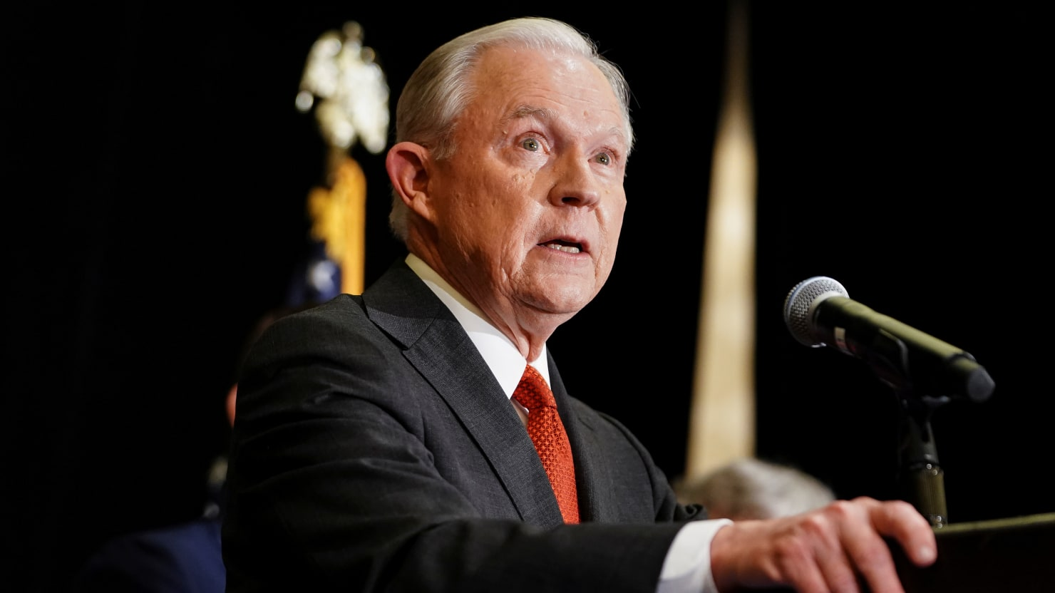 Trump-Backed Candidate Ends Jeff Sessions' Political Career