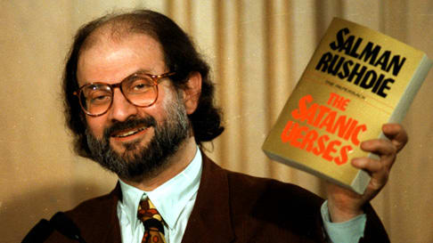 Billedresultat for Salman Rushdie
