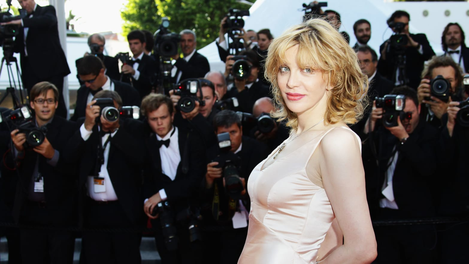 "CANNES, FRANCE - MAY 20:  Courtney Love attends the ""This Must Be The Place"" premiere during the 64th Annual Cannes Film Festival at Palais des Festivals on May 20, 2011 in Cannes, France.  (Photo by Vittorio Zunino Celotto/Getty Images)"