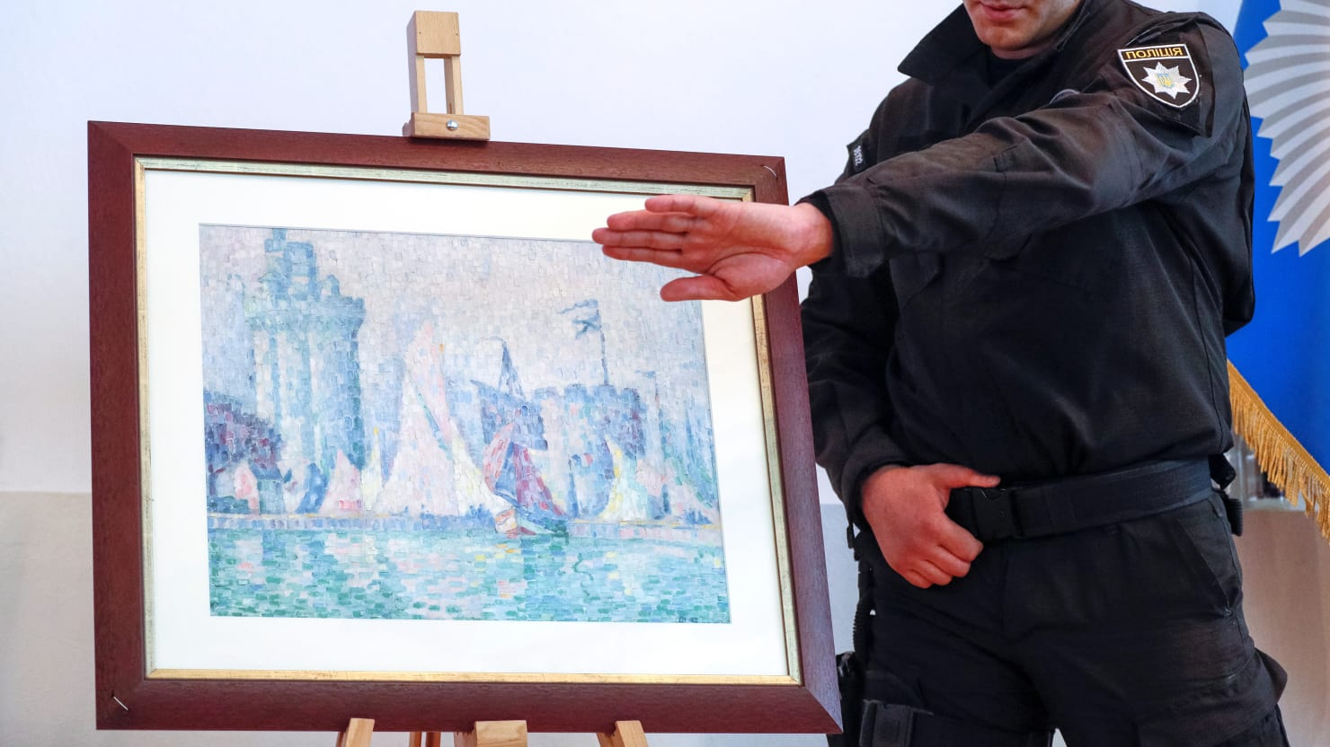 Stolen Painting by Impressionist Master Paul Signac Recovered in Ukraine