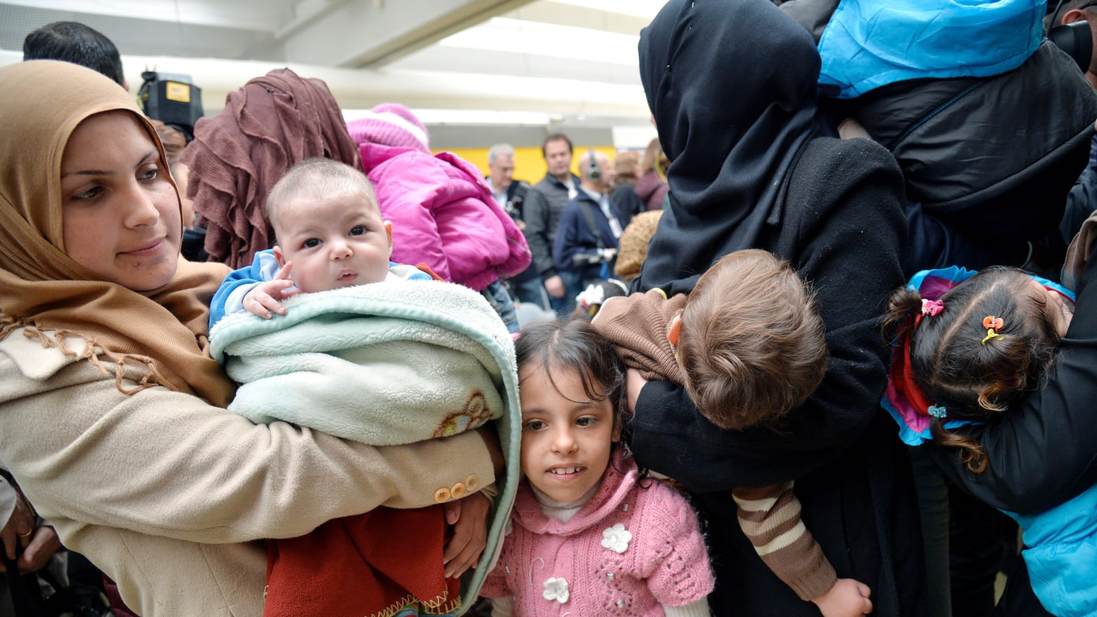 Thousands of Kids are Stranded at Rome Airport—or Disappearing