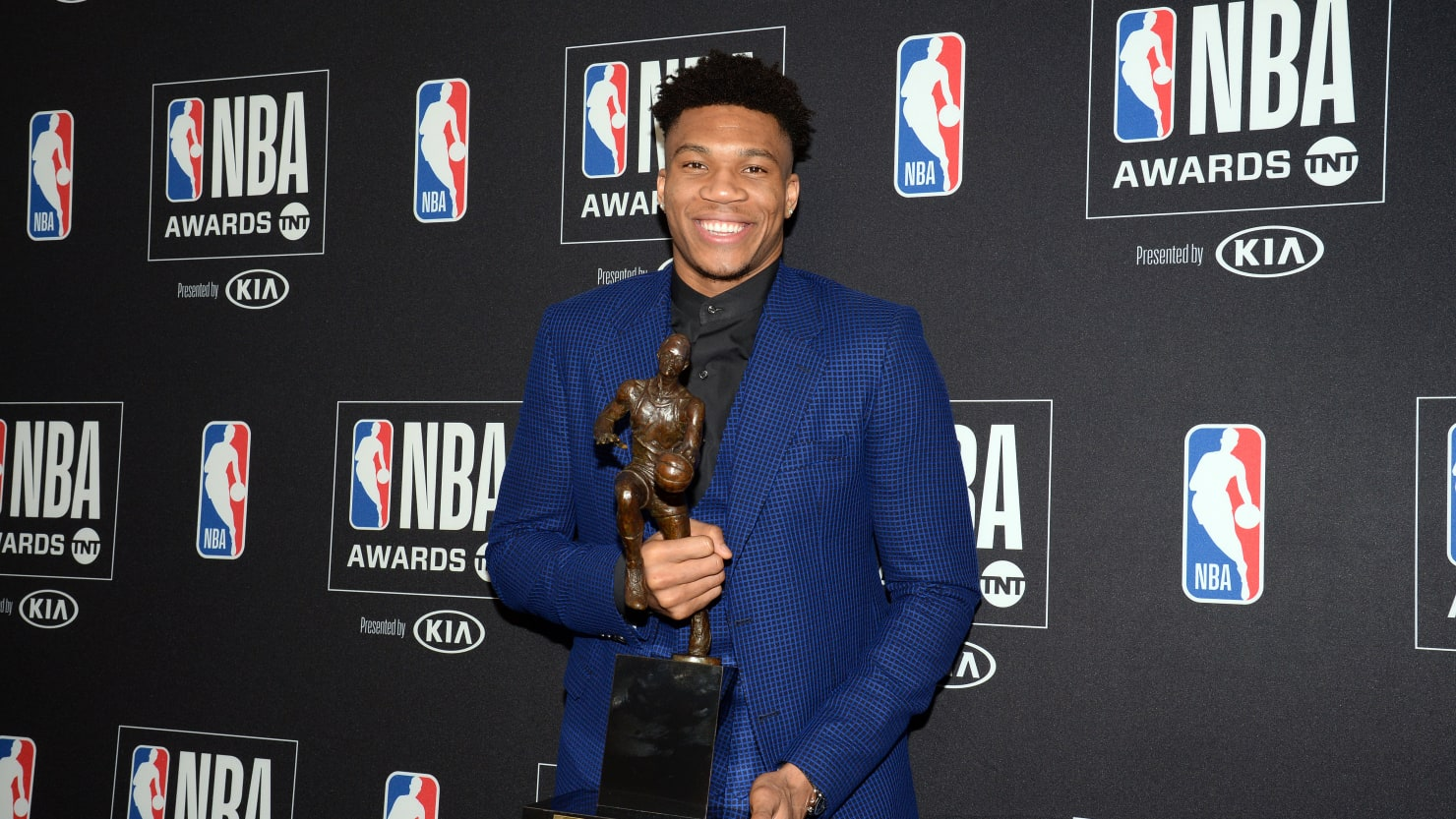 Giannis Antetokounmpo Named NBA's Most Valuable Player