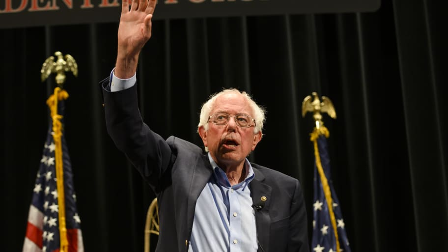Bernie Sanders to Trump: 'I Am a Proud Jewish Person'