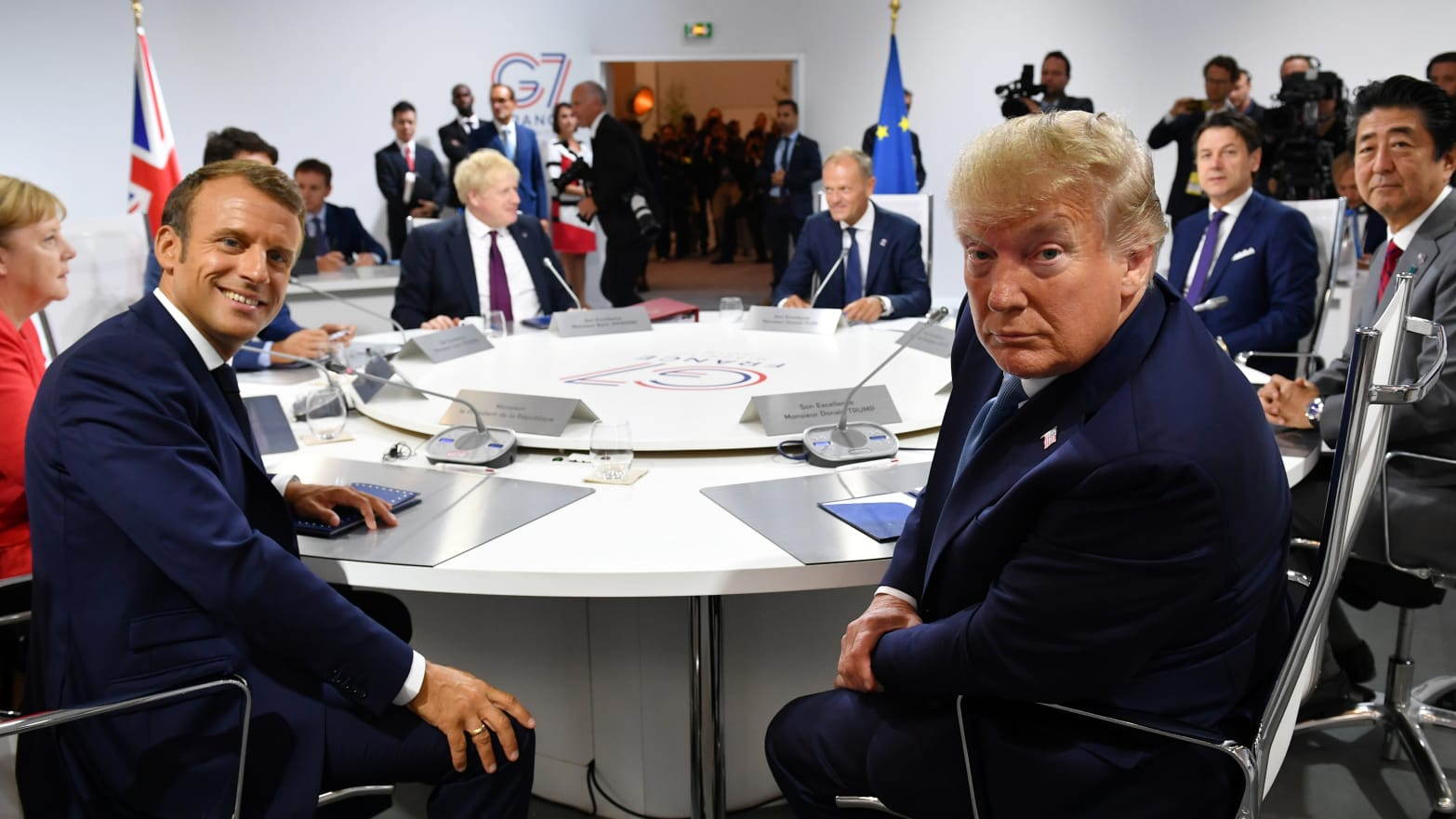 Donald Trump Upstaged at G7 By the Foreign Minister of ... Iran