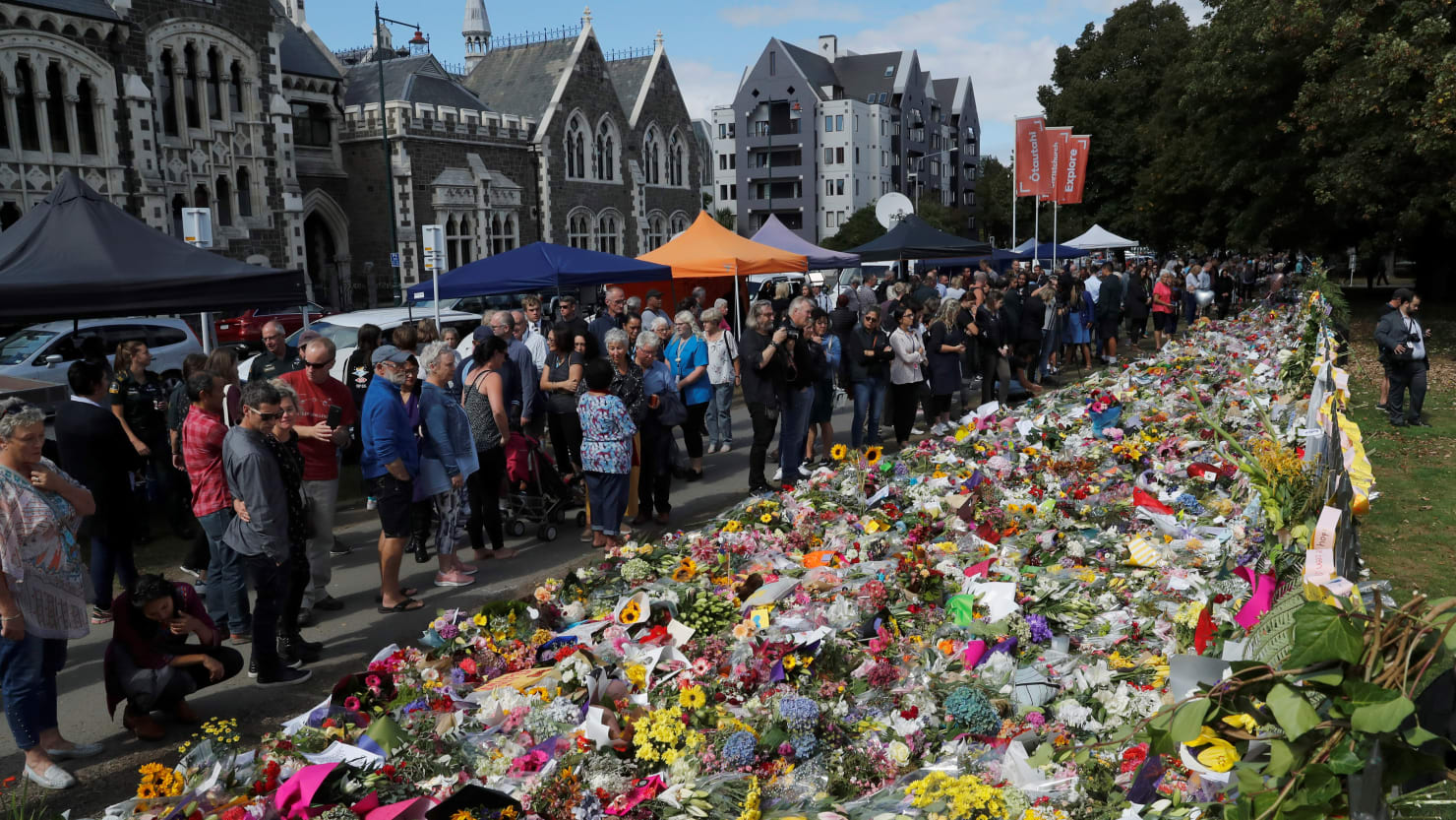 Christchurch Shooting Live Pinterest: New Zealand Shooting: Facebook Says No Viewers Reported