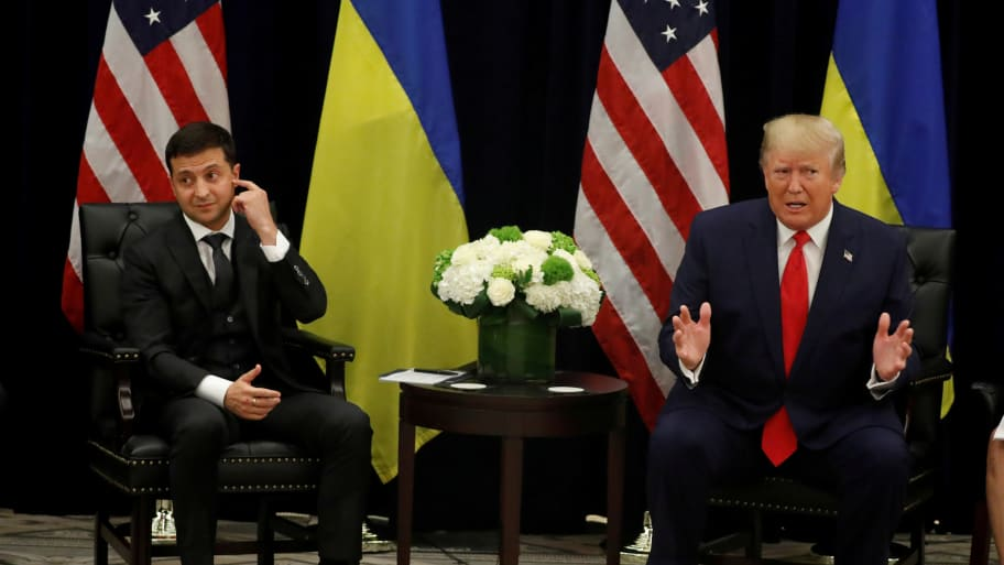 Ukrainian President was booked to announce Biden investigation