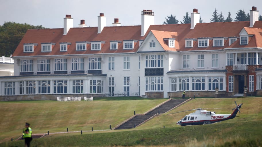 Air Force Concludes Stays at Trump Scotland Resort Were Not in Violation of 'Anything'