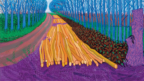 David Hockney S Landscapes