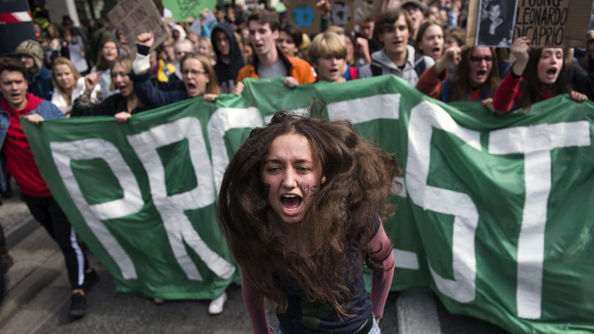 Kids Around The World Protest Climate Change