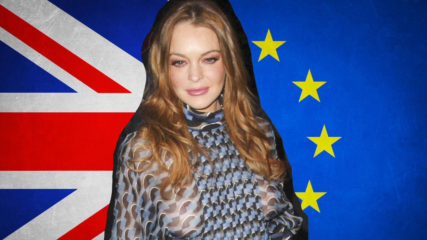 Lindsay Lohan S Brexit Twitter Meltdown Is Epic