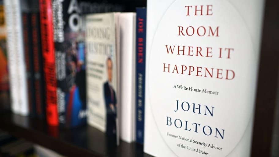 DOJ goes after Bolton