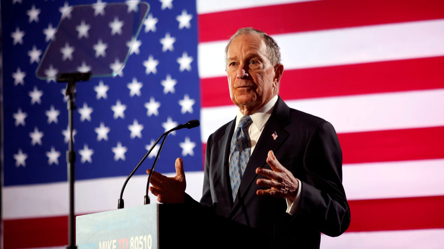 Bloomberg Makes It Into Next Democratic Debate After Surge in the Polls