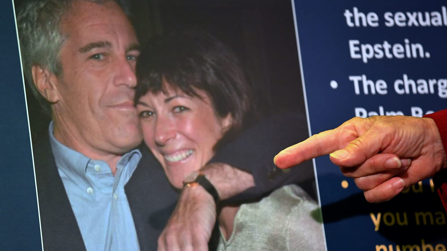 Epstein and Ghislaine Maxwell Forced Young Girls Into an Orgy: Court Records