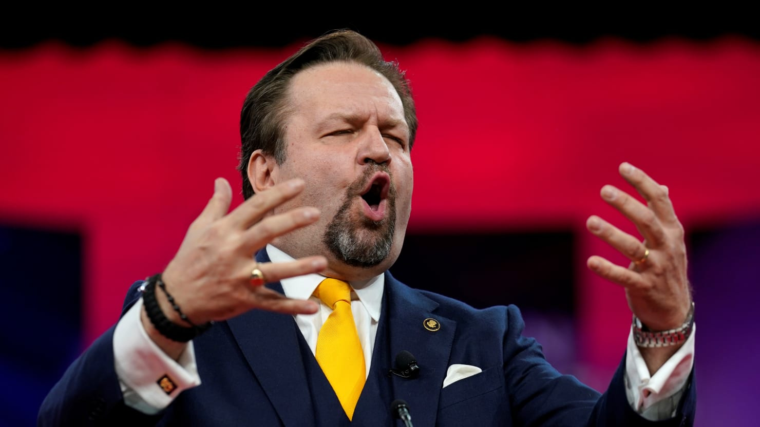 Seb Gorka Rages Against Cartoon Rat's Gay Wedding: 'This Is a War for Our Culture'