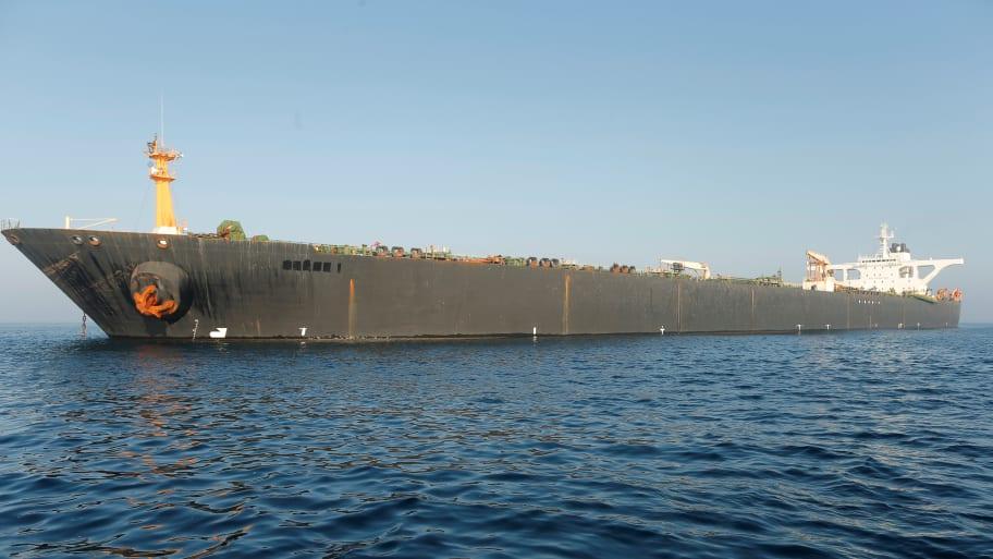 United States Unseals Warrant in Last Ditch Effort to Seize Iranian Oil Supertanker Off Gibraltar