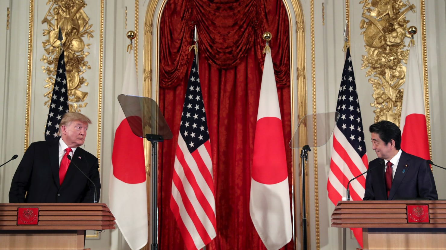 Trump in Japan: Not Ready to Deal With China, Kim Jong Un is Great