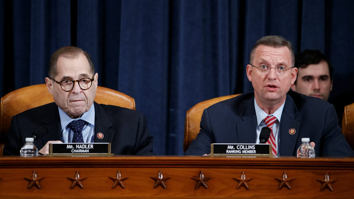 House Judiciary Committee Postpones Vote on Articles of Impeachment