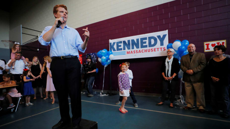 Rep. Joe Kennedy III Officially Launches Campaign for Senate