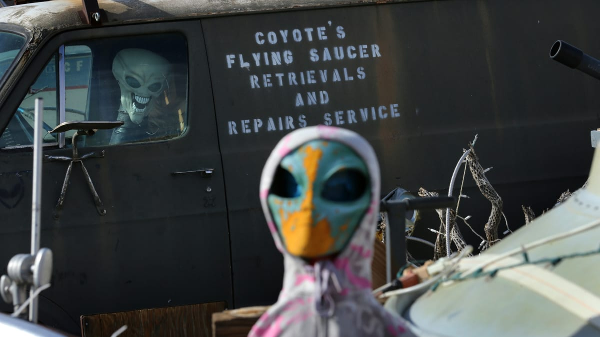 Area 51 Stormers: Air Force Warns the U.S. Military 'Stands Ready'