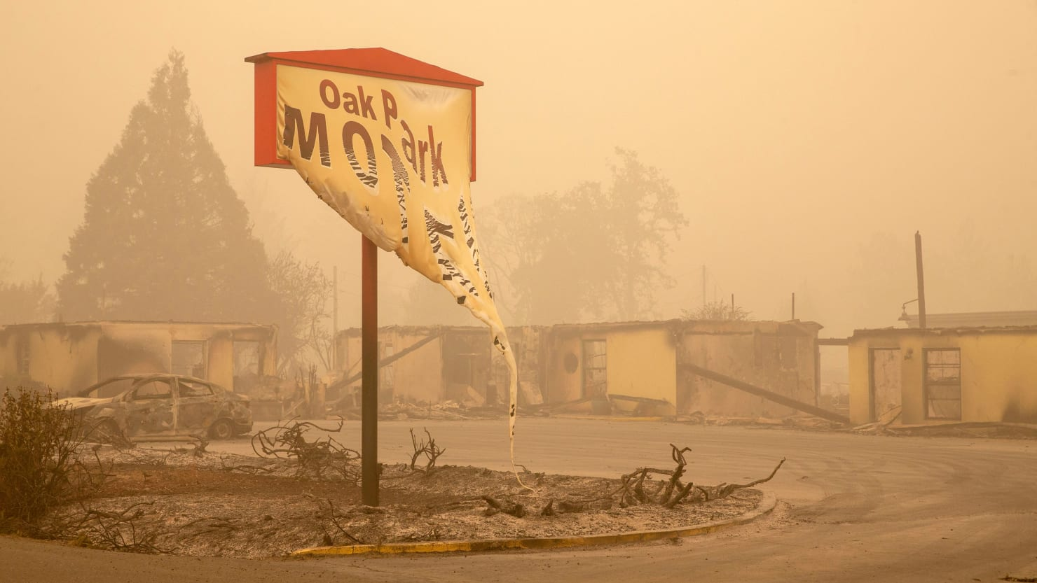 Like 'a Bomb Went Off': An Oregon City Destroyed as Wildfires Devastate West Coast