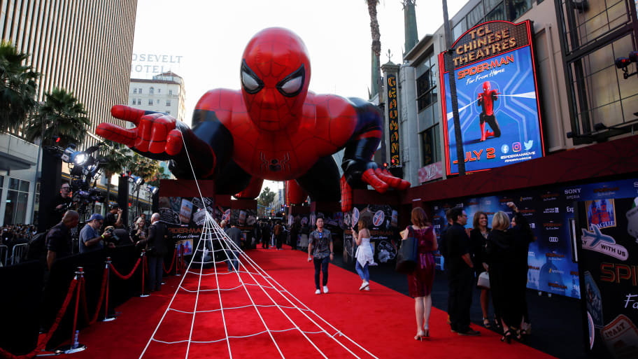 'Spider-Man: Far From Home' Dominates at the Box Office for Second Week Running