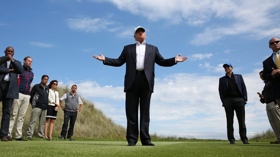 Trump Inflated Worth of Scottish Properties on Financial Forms: Report
