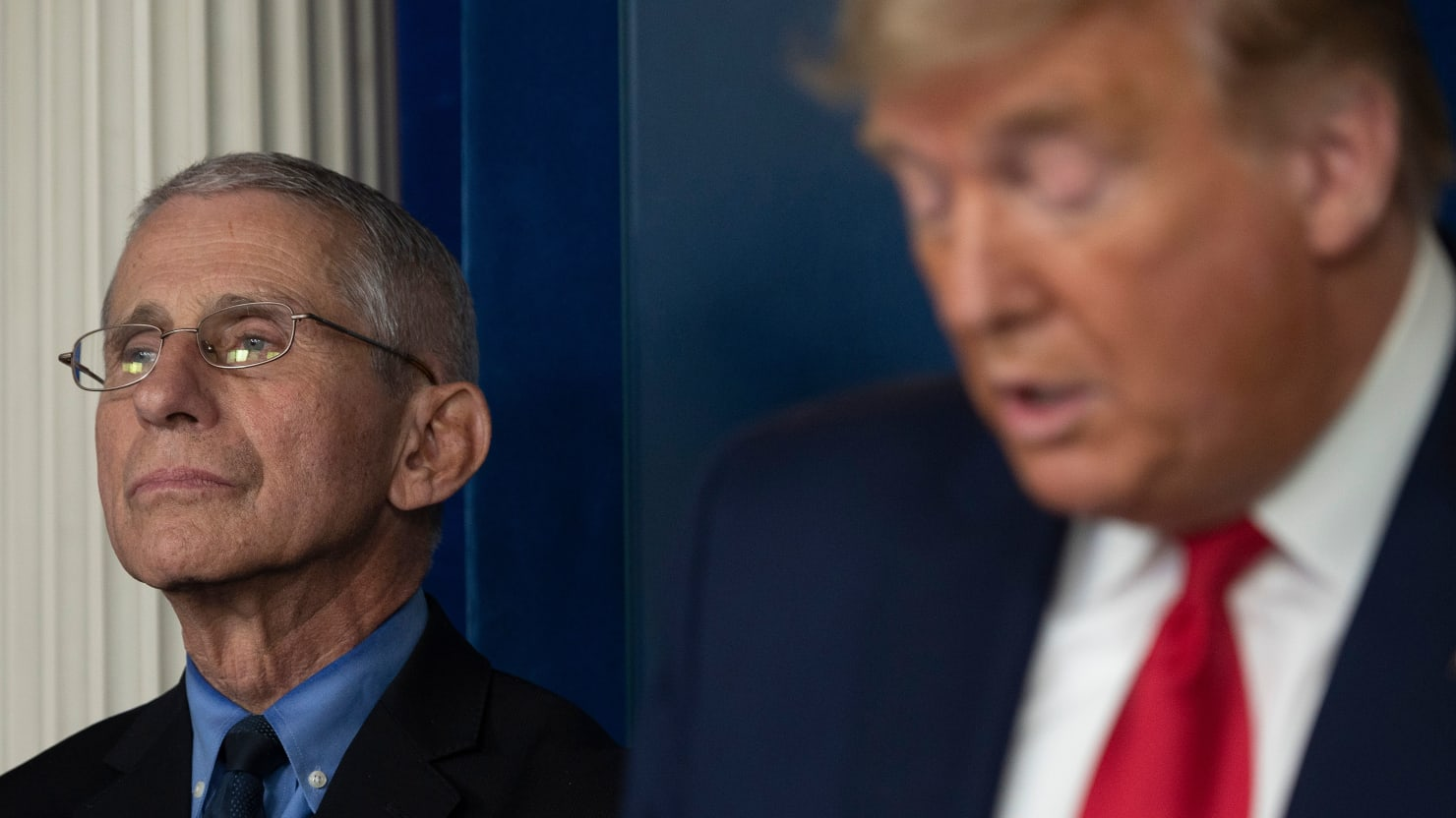 Fauci Becomes Target of Pro-Trump Disinformation Op