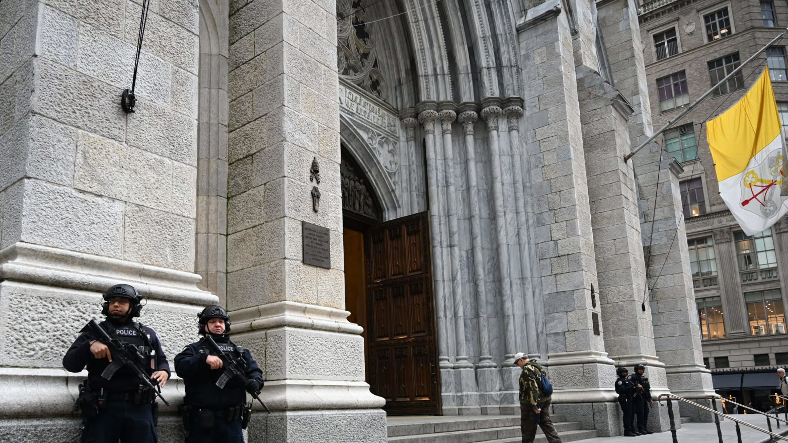 St. Patrick's: Marc Lamparello, Charged With Attempting to Set Fire to Iconic Church, Had Been Arrested at Newark Cathedral on Monday