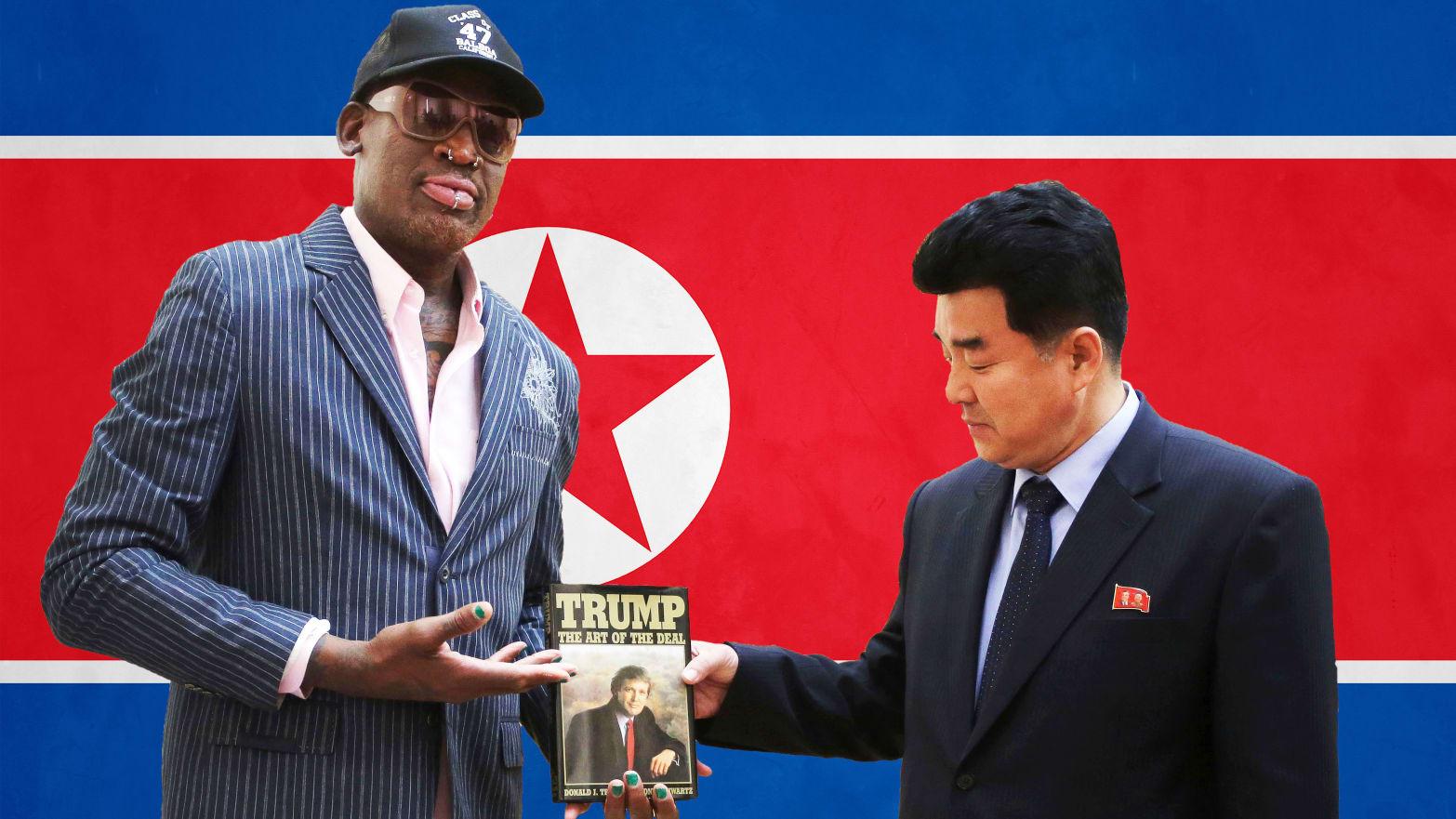 Dennis Rodmans North Korea Trip Just Saved The World