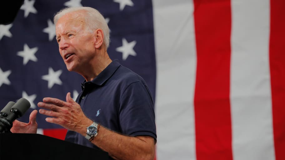 Joe Biden Doubles Down That President Trump is 'More George Wallace Than George Washington'