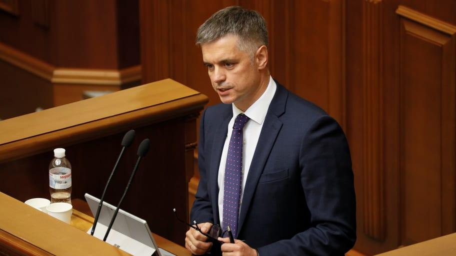 Ukrainian Foreign Minister Vadym Prystaiko Denies Trump Pressured Volodymyr Zelensky