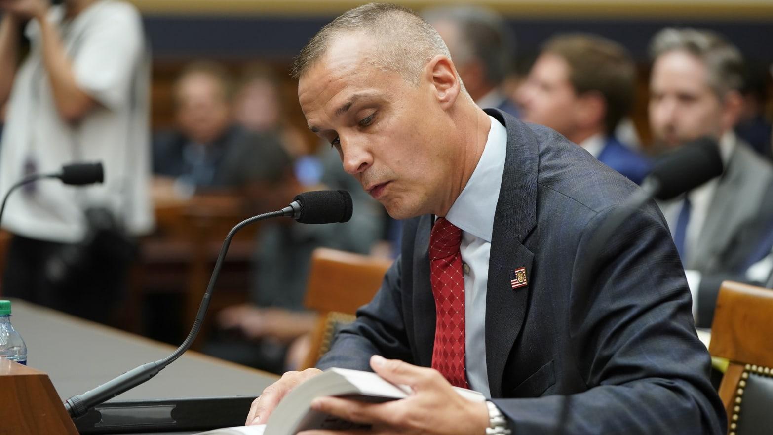 Corey Lewandowski's House Testimony Quickly Devolves Into a Total Mess