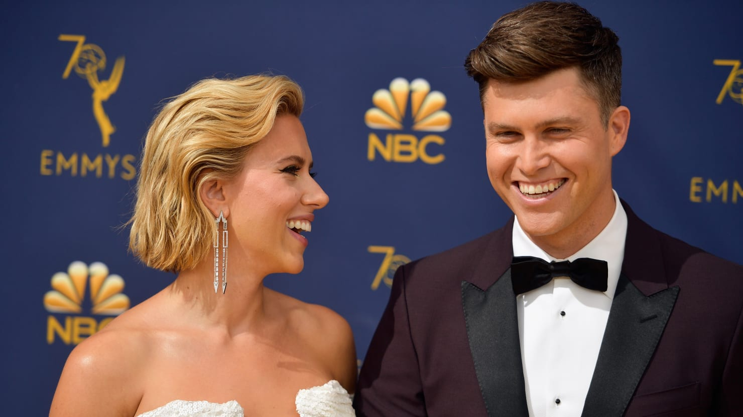 Scarlett Johansson and Colin Jost Are Engaged: AP