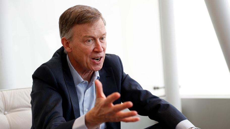 John Hickenlooper Will Enter the Senate Race in Colorado