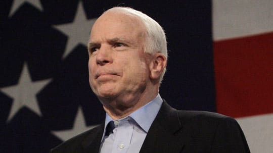 Position of john mccain on gay rights