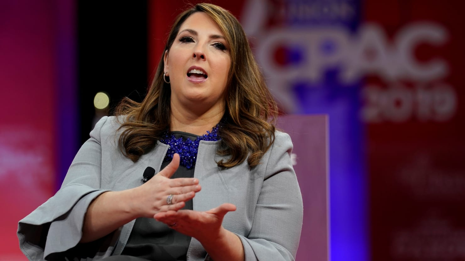 RNC Chair Ronna McDaniel Also Voted by Mail