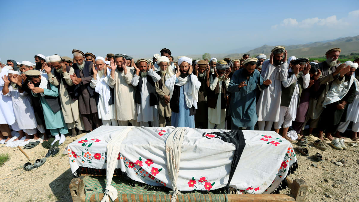 U.S. Drone Strike Aimed at ISIS Kills 30 Civilians Resting After Work: Afghanistan Officials