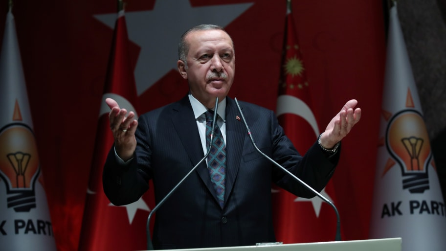 Erdogan Says He'll Refuse to Meet Pence and Pompeo in Turkey