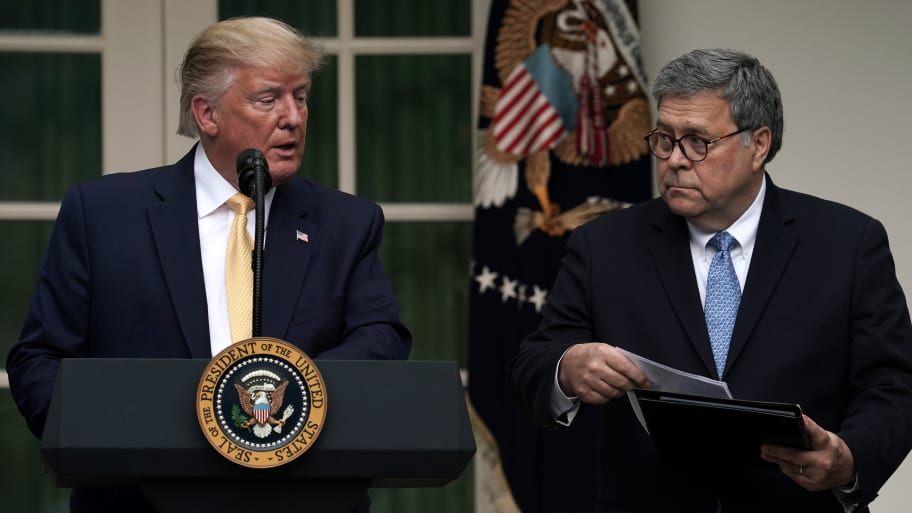 Trump Told Erdogan Attorney General Barr, Treasury Sec. Mnuchin Would Handle Halkbank Case: Report